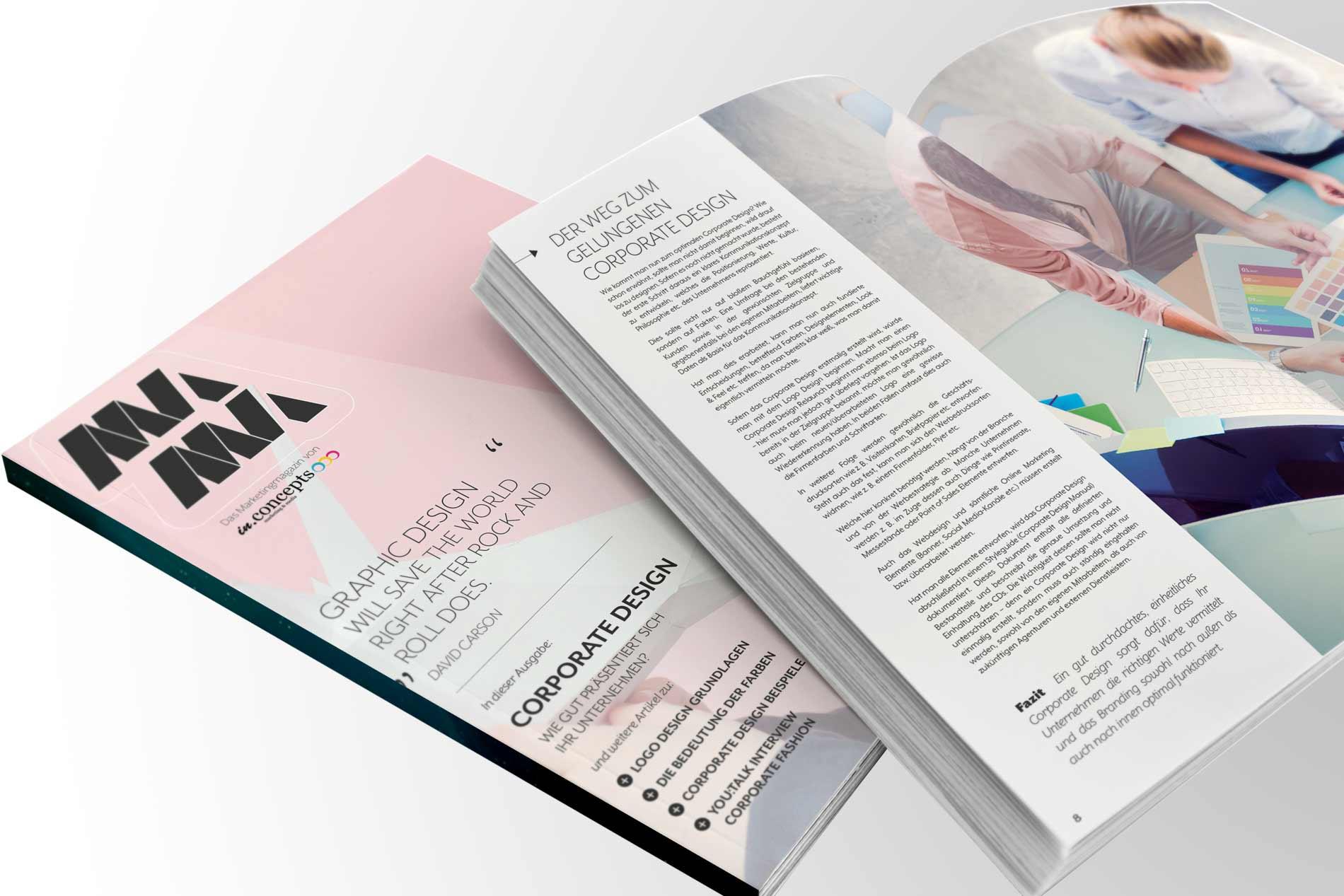Marketing Magazin Mama Ausgabe 03 Corporate Design